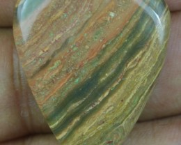 31.50 CT BEAUTIFUL STRIPED JASPER (NATURAL+UNTREATED) X32-70