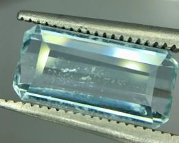 2.60 Crt Aquamarine Faceted Gemstone