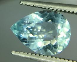 1.70 Crt Aquamarine Faceted Gemstone