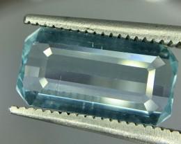 2.0 Crt Aquamarine Faceted Gemstone