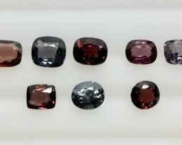 6.15 Crt Spinel Parcels Faceted Gemstone