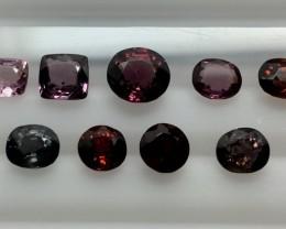 7.20 Crt Spinel Parcels Faceted Gemstone