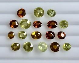 23.90 Crt Mali Garnet Parcels Faceted Gemstone (R 211)
