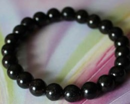 Black Tourmaline Natural Stone Bracelet 8 MM