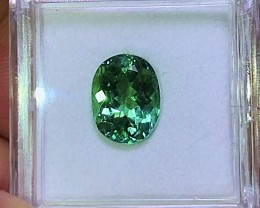 3.15 cts VVS Electric Blue/Green Tourmaline