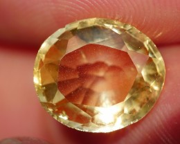 2.75 CRT FACETED GOLDEN YELLOW CITRINE-