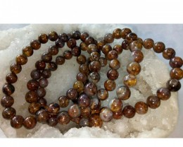 Pietersite Natural Stone Bracelet 8 mm