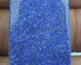 49.15 CT LAPIS LAZULI BEAUTIFUL Cabochon (NATURAL+UNTREATED) x14-123