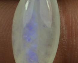 6.10 Rainbow Moonstone Cabochon Natural Stone x30-187