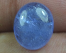 5.05 Ct Tanzanite Cabochon (Natural+Untreated) X39-103