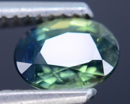 1.26 ct Greenish Blue Sapphire SKU.10
