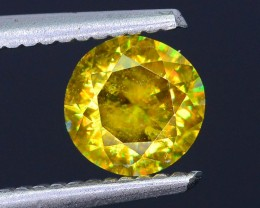Rare AAA Fire 1.04 ct Malayaite Sphene Bright Yellow Badakhshan Sku-19