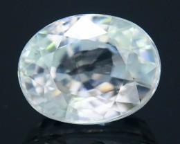 Diamond Like Brilliance 3.32 ct White Zircon Cambodia SKU.2