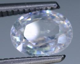 Diamond Like Brilliance 2.67 ct White Zircon Cambodia SKU.2