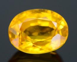 1.09 ct Yellow Ceylone Sapphire SKU.1