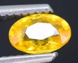 Lovely 1.0 ct Yellow Ceylon Sapphire SKU.1