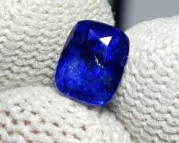 CERTIFIED 1.24 CTS NATURAL BEAUTIFUL ROYAL BLUE SAPPHIRE CEYLON SRI LANKA