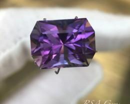 Precision cut Amethyst - 10.36 carats
