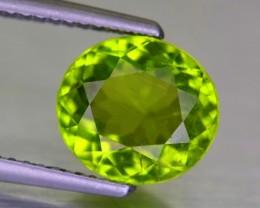 2.65 Cts 9x5MM Peridot Gemstone Pakistan