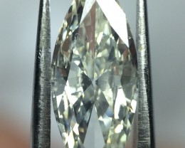 0.77 carat GIA Certified L SI2 Marquise Natural Loose Diamond