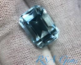 Classic Aquamarine - 9.75 carats