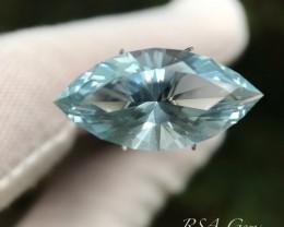 Aquamarine Marquis - 9.08 carats