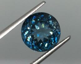 5.21 Carat VVS Topaz London Blue - Gorgeous Color !