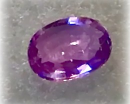 A CANDY PINK PURPLE SAPPHIRE - NO RESERVE!