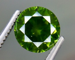 1.73 Crt Natural Green Daimond Beautifulest Faceted Gemstone (DG 01)