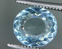 1.85 Crt Aquamarine Faceted Gemstone (R 212)