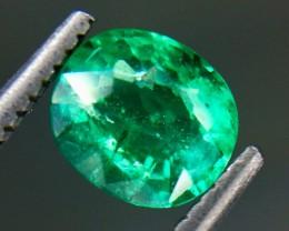 0.79 Crt Natural Emerald Beautiful Faceted Gemstone (MG 28)