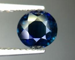Magnificent Top Color Sparkling Intense Blue Sapphire Pk43