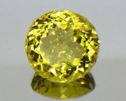 7.74 Crt Natural Lemon Quartz Faceted Gemstone (MG 28)