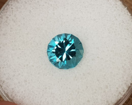 2,25ct Swiss blue Topaz - Master cut!