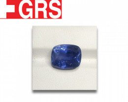 Natural GRS Unheated Blue Sapphire|Loose Gemstone|New| Sri Lanka