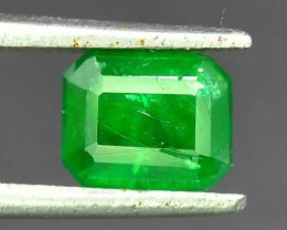 Top Color 0.80 ct Natural Emerald~ Swat AM