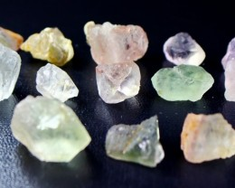 358 CT Natural - Unheated  Fluorite Rough Lot