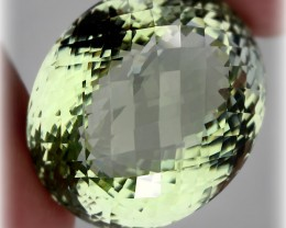 66.50ct. Top Sparkling Green Amethyst (Prasiolite) - Jewellery grade gem
