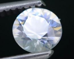 Gil Certified Diamond Like Brilliance 1.32 ct White Zircon Cambodia SKU.2