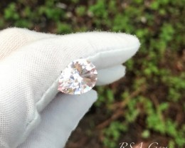 Morganite Pear - 4.43 carats