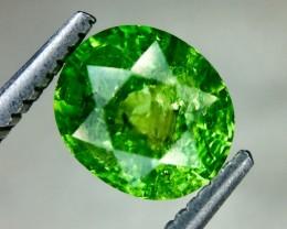 1.54 Crt Natural Tsavorite Garnet Beautifulest Faceted Gemstone (MG 29)