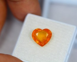 4.48Ct Yellow Sapphire Heart Cut Lot LZB226