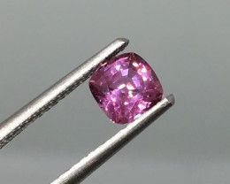 .81 Carat VVS Certified Pink Sapphire - Amazing Color, Clarity and Sparkle
