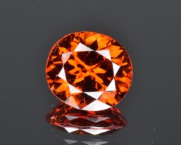 Natural Hessonite Garnet 2.74 Cts, Unique Orange Color from Afghanistan