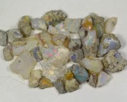 124.5Cts Ethiopian Welo Rough Opal Parcel Lot