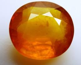 19.52 ct.   Natural Orangey Yellow Sapphire   Africa