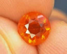 Rarest 0.75 ct Mexican Fire opal