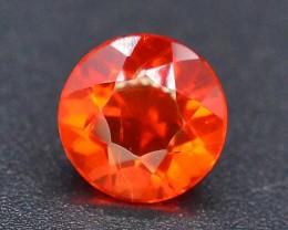 Rarest 0.60 ct Mexican Fire opal