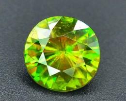 AAA Color 2.05 ct Chrome Sphene from Himalayan Range Skardu Pakistan