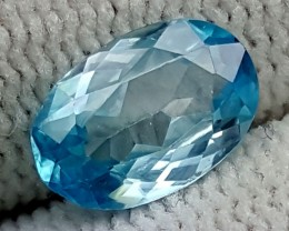 2.20CT BLUE ZIRCON BEST QUALITY GEMSTONE IGC488